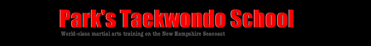 Park's Taekwondo School, Portsmouth, New Hampshire